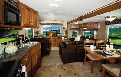 Winnebago ONE Interior. (PRNewsFoto/Winnebago Industries, Inc.)