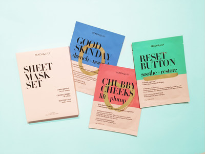 Peach & Lily Sheet Mask Collection