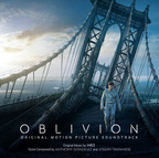 Oblivion Original Motion Picture Soundtrack cover art.  (PRNewsFoto/Back Lot Music)