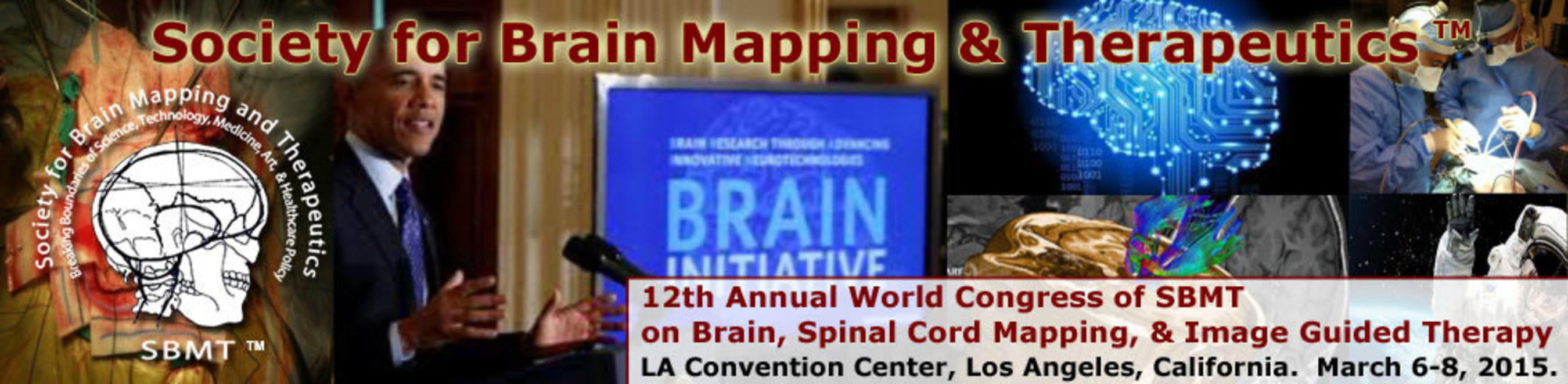 Society for Brain Mapping and Therapeutics holds its 12th Annual World Congress at the LA Convention Center in ...