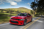 707-horsepower 2015 Dodge Charger SRT Hellcat rated at 22 mpg highway
