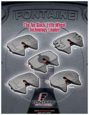 New Fontaine Fifth Wheel Catalog Makes Finding the Right Fifth Wheel Easy