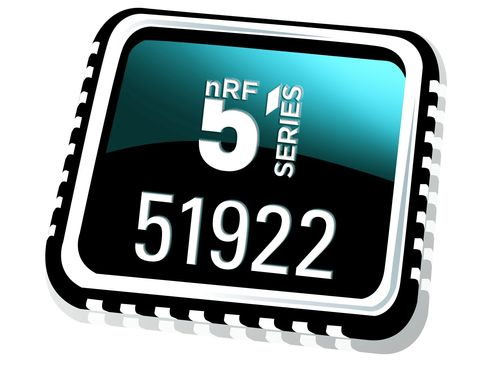 The Nordic Semiconductor nRF51922 supports both ANT+ and Bluetooth low energy wireless comms for the first time