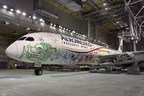 Aeroméxico presenta el exterior de su primer Boeing 787-9 Dreamliner