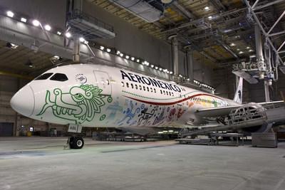 "Aeromexico's Boeing 787-9 ""Quetzalcoatl"""