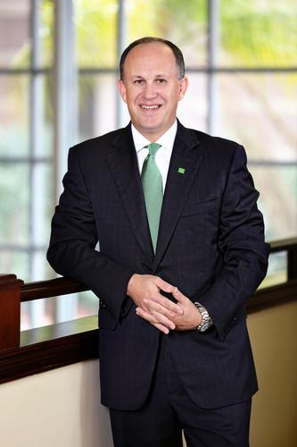 Ernie Diaz, TD Bank Regional President for Florida.  (PRNewsFoto/TD Bank)