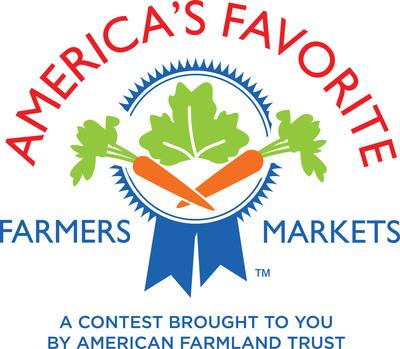 America's Favorites Farmers Markets Contest Logo www.votemyfarmersmarket.org.  (PRNewsFoto/American Farmland Trust)