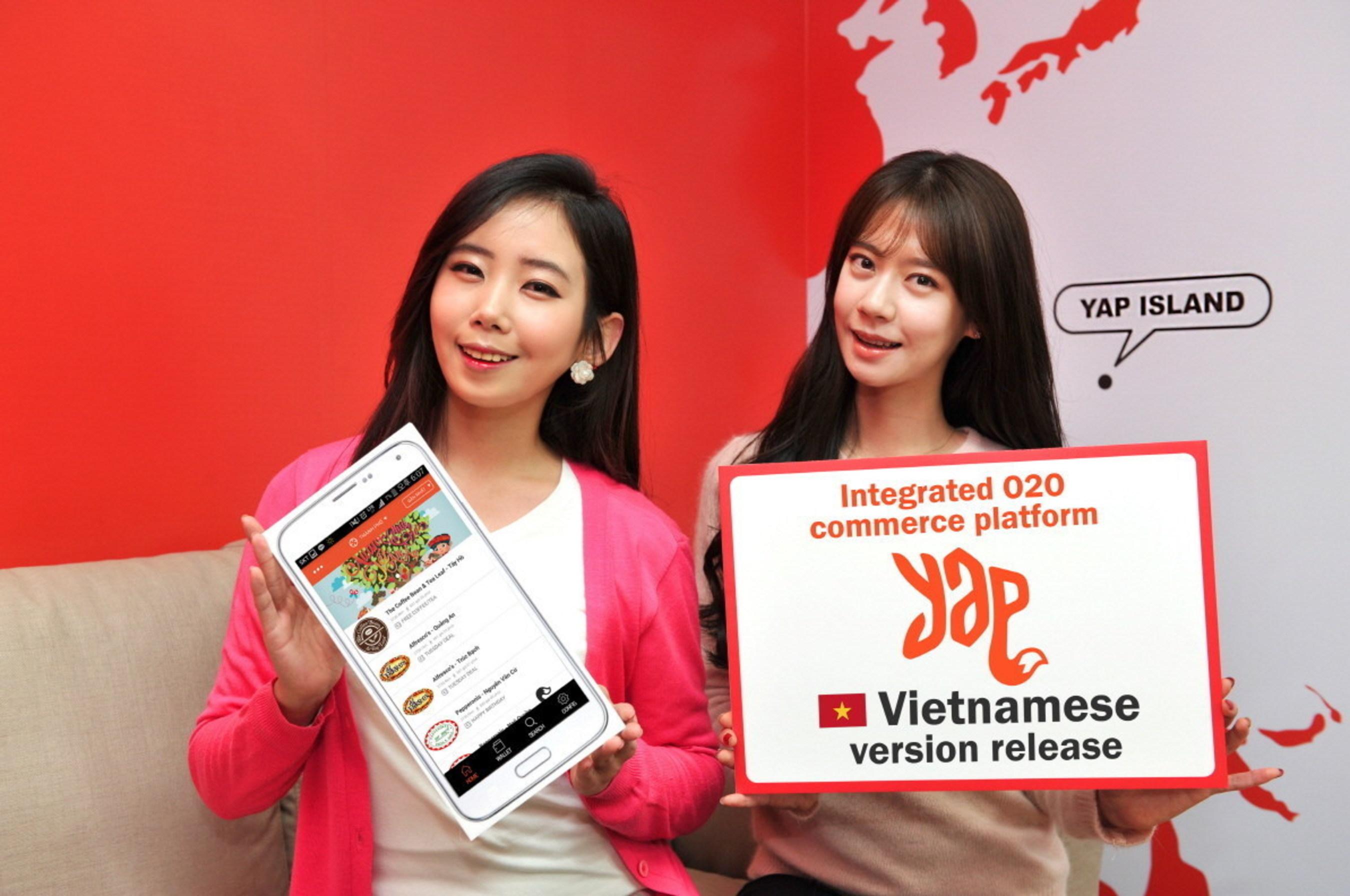 Worldwide Craze for O2O, South Korea's YAP Goes Global with O2O