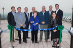 Corte Madera Mayor Carla Condon, Chamber President Stan Hoffman, and Town Manager Dave Bracken join Aimco Chief Investment Officer John Bezzant and Aimco team members to officially cut the ribbon at the grand opening of Preserve at Marin.