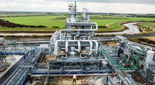 Offizielle Eröffnung der größten Bioethanol-Anlage im Vereinigten Königreich, die die
