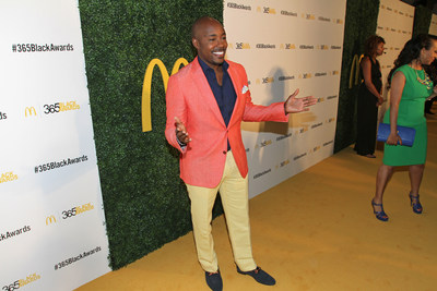 NEW ORLEANS - (July 5, 2014) – Film producer and McDonald's 365Black Award recipient Will Packer poses on the golden carpet with before attending the show. The 11th annual ceremony, held at the New Orleans Theater, took place July 5. McDonald's 365Black Awards are given annually to salute outstanding individuals who are committed to making positive contributions that strengthen the African-American community.