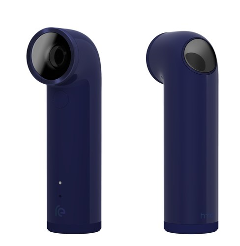 RE, HTC's newest innovation, a small handheld camera that captures photo and video. (PRNewsFoto/HTC)