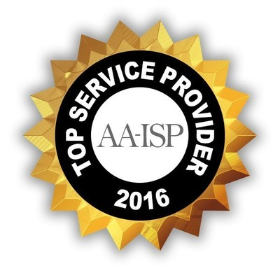 Velocify named as AA-ISP's Top Service Provider, 2016
