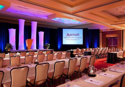 When meeting planners book 75 cumulative rooms before April 30, 2014, at the Denver Marriott City Center, their companies will receive an iPad mini equipped with the new Marriott Meeting Services app. The downtown Denver hotel boasts 30,000 square feet ...