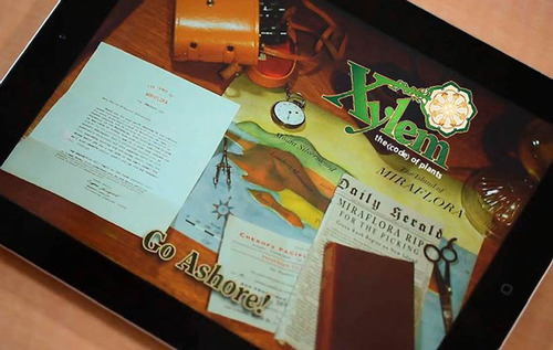"""Xylem: The Code of Plants,"" developed by SRI International and UC Santa Cruz. Photo: SRI ..."