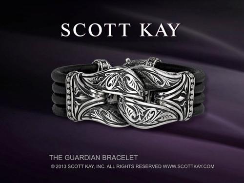 The Guardian Bracelet - (C) 2013 SCOTT KAY, INC. ALL RIGHTS RESERVED.  WWW.SCOTTKAY.COM.  (PRNewsFoto/Scott Kay)