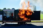 Flashover occurred in 3 minutes. Fire is fast, and no one survives flashover.