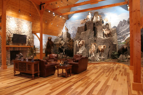 Ultimate Man Cave Near Adrian, Michigan.  (PRNewsFoto/Ralph Roberts Realty)