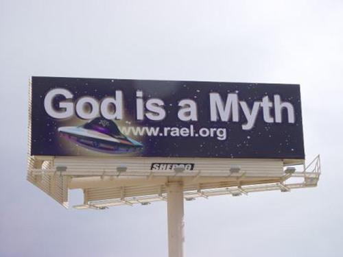'God is a Myth!' Raelian Movement Launches Atheistic Campaign