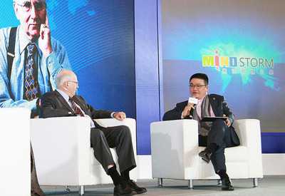 Tencent SY Lau Dialogues with Mr. Philip Kotler on Managing the New Marketing