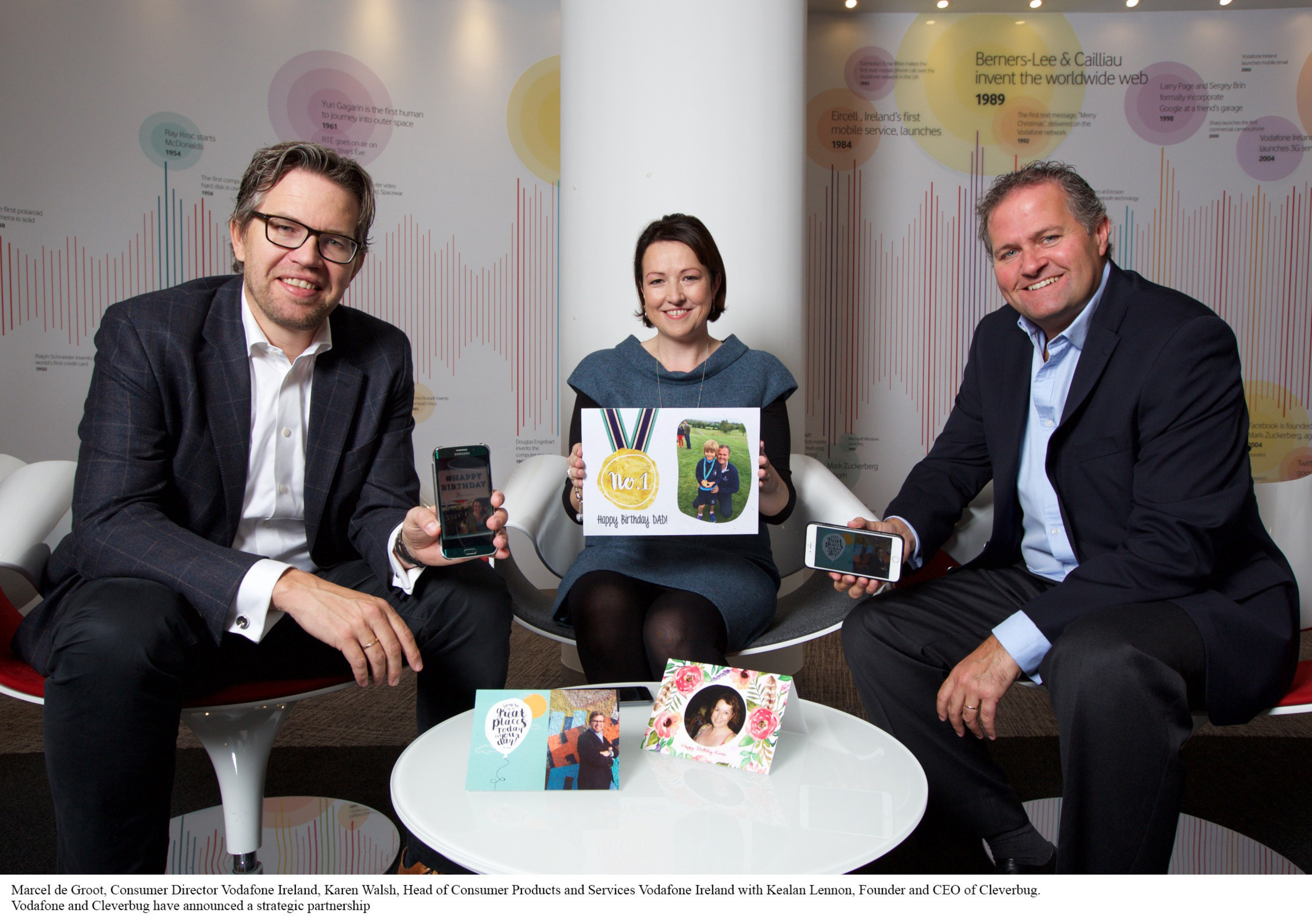 Vodafone and Cleverbug Announce New Content Partnership