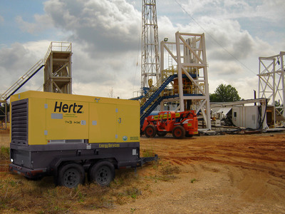 Hertz Equipment Rental opens new Bismarck, North Dakota location to serve the Bakken oil fields as well as the commercial construction, agriculture, power and mining sectors.  (PRNewsFoto/The Hertz Corporation)
