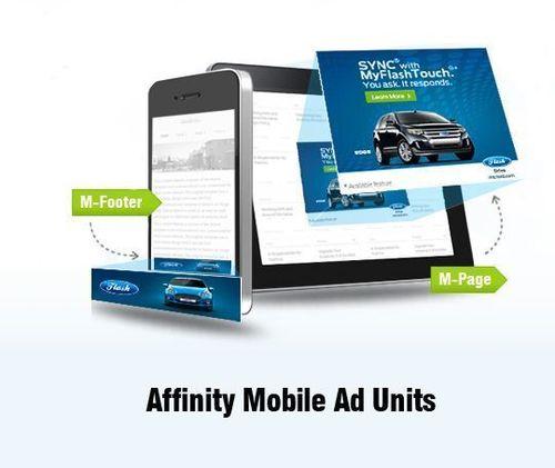 Affinity Mobile Ad Units (PRNewsFoto/Affinity Global Inc)