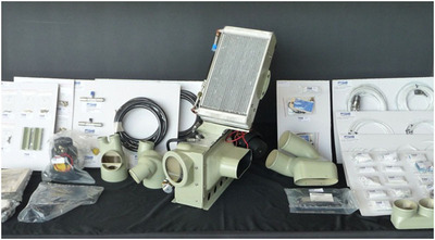 RSG A109 Series High Performance Air Conditioning System.  (PRNewsFoto/Rotorcraft Services Group, Inc.)