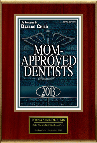 "Kathia Steel Selected For ""2013 Mom-Approved Dentists"".  (PRNewsFoto/American Registry)"