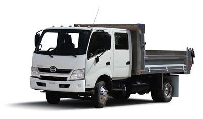 Hino Truck COE 195 Double Cab.  (PRNewsFoto/Hino Trucks)