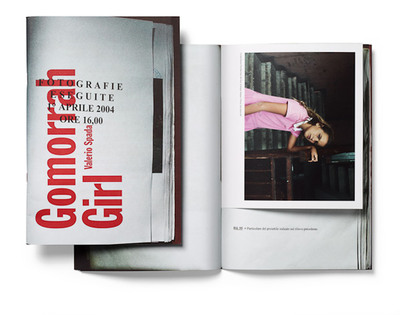 "The winning book of the 2011 Photography Book Now competition, ""Gomorrah Girl"" by Valerio Spada.  (PRNewsFoto/Blurb)"