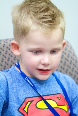 Logan Green has completed brain cancer treatments at Scripps Proton Therapy Center in San Diego. September is national childhood cancer awareness month.