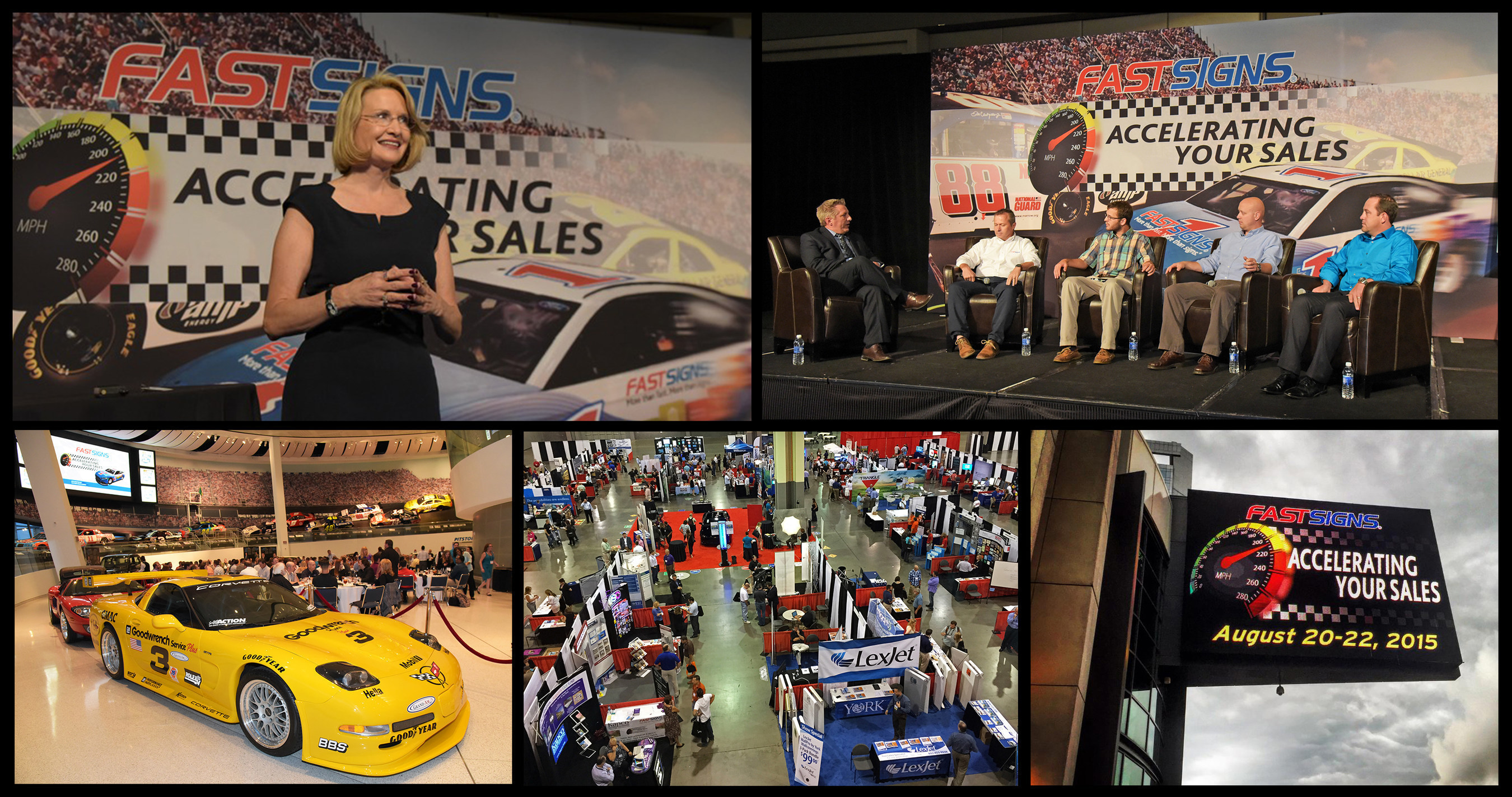 FASTSIGNS International, Inc. recently held its annual Outside Sales Summit in Charlotte, North Carolina.