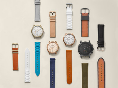 Fossil's new hybrid smartwatches: Q Nate and Q Tailor and their limitless strap options