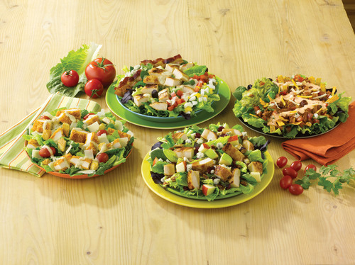 Wendy's is celebrating National Salad Month in May by continuing to deliver fresh, high-quality ingredients  ...
