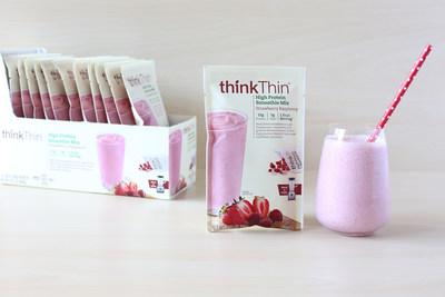 thinkThin High Protein Smoothie Mix