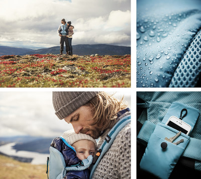 New hiking Baby Carrier One Outdoors from BabyBjörn - designed for families who love adventure and outdoor activities