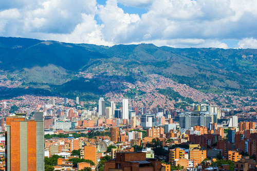 Medellin, Colombia. (PRNewsFoto/Lincoln Institute of Land Policy) (PRNewsFoto/LINCOLN INSTITUTE OF LAND POLICY)