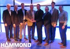 Hammond Group, Inc. receiving The Sally Breidegam Miksiewicz Innovation Award at the 2016 BCI Convention + Power Mart Expo in San Antonio, TX on May 2. Pictured from left to right; Gordon Beckley, Stephen A. Bolanowski, Eric Holtan, Terry Murphy, BCI representative, Steve Barnes, Stephen W. Bolanowski, Achim Lulsdorf
