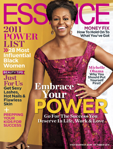 ESSENCE Magazine October Issue Featuring Michelle Obama. (PRNewsFoto/ESSENCE Magazine)