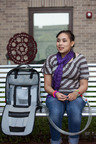 On May 21, 20-year-old Tiernee Gonzalez became the first SynCardia Total Artificial Heart patient to be discharged from Cincinnati Children's to wait for a matching donor heart at home using the Freedom portable driver.  (PRNewsFoto/SynCardia Systems, Inc.)