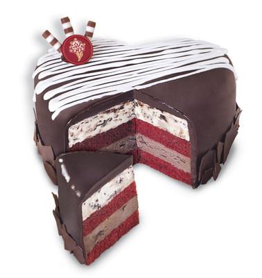 Cold Stone Creamery Valentine's Cake