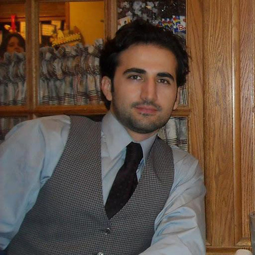 Amir Hekmati, ex-US Marine sits wrongfully imprisoned in Iran for over a year.  (PRNewsFoto/The Hekmati Family)