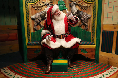 The One-And-Only Santa Claus at Macy's Herald Square. John Minchillo/AP Images for Macy's Inc.