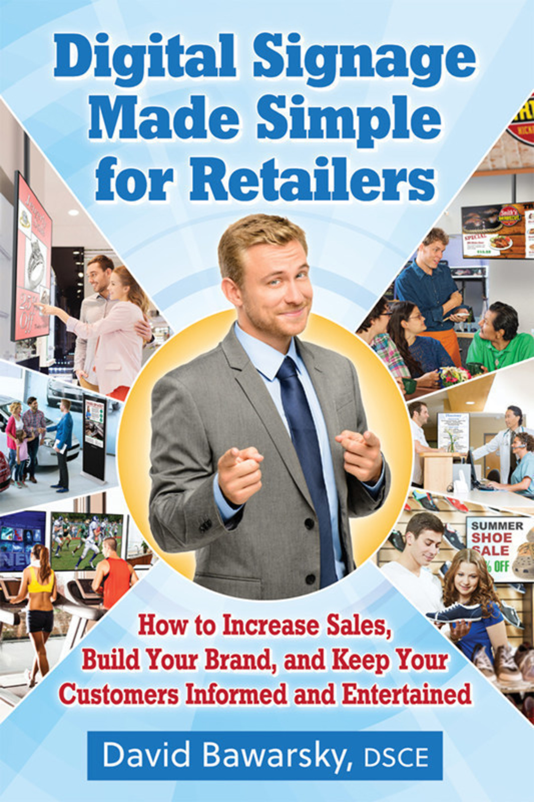 New Book Makes Digital Signage Simple for Retail Businesses