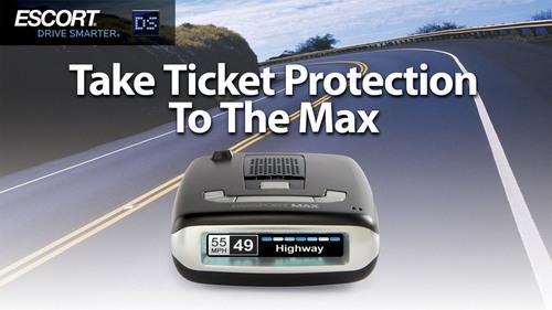ESCORT's PASSPORT Max radar detector.  (PRNewsFoto/ESCORT Inc.)