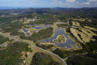 The 14 MW Kanagi Solar Power Project in Japan