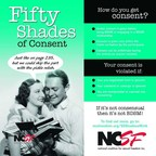 NCSF's Fifty Shades of Consent palm card: Consent is given before the activity begins, consent is given within the limits set by the participants, and consent can be withdrawn at any time during the activity. If it's not consensual, it's not BDSM! https://ncsfreedom.org/resources/50-shades.html