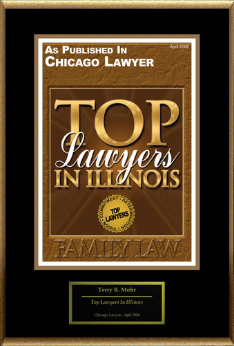 "Terry R. Mohr Selected For ""Top Lawyers In Illinois.""  (PRNewsFoto/American Registry)"