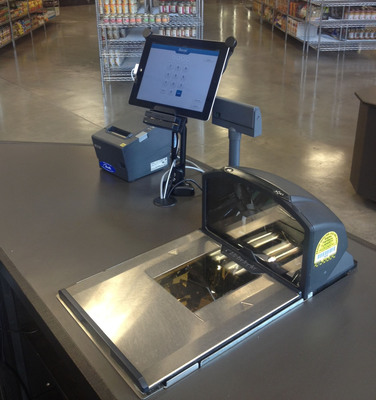 Grocery POS system by Revel Systems.  (PRNewsFoto/Revel Systems)